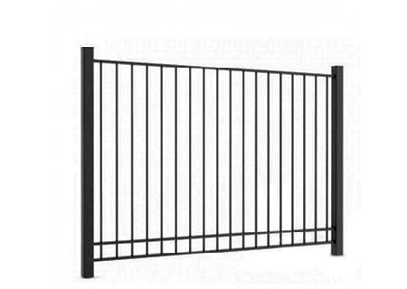 Забор из профтрубы